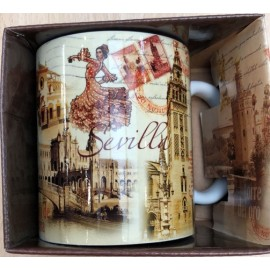JUMI TAZA SEVILLA SEPIA WITH BOX