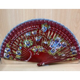 SPANISH FAN. Hand painted
