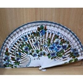 FAN. Hand painted